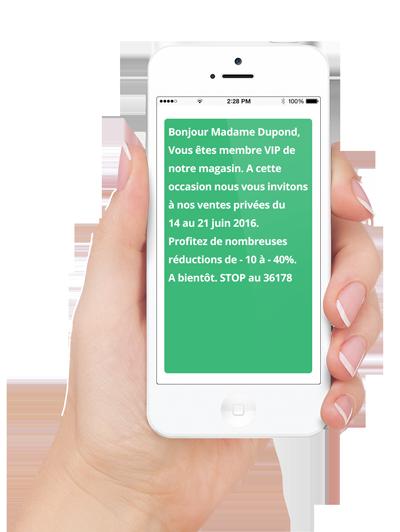 SMS Ventes privées TLPhone