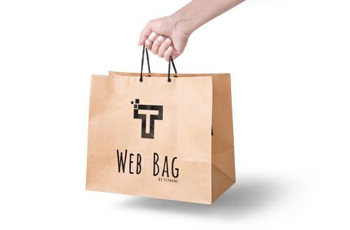 Création site internet offre Web Bag de TLPhone